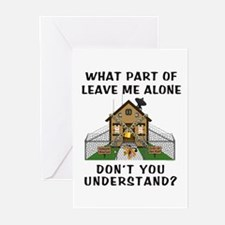 Leave Me Alone Greeting Cards (Pk of 10)