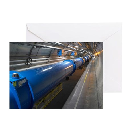 LHC tunnel - Greeting Cards (Pk of 20)