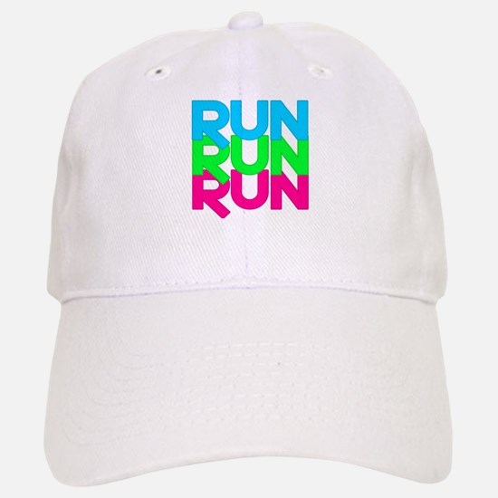 Run Run Run Baseball Baseball Cap
