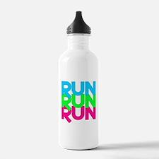 Run Run Run Water Bottle