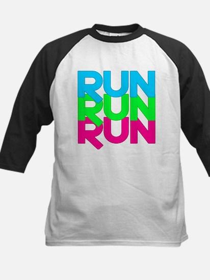 Run Run Run Kids Baseball Jersey