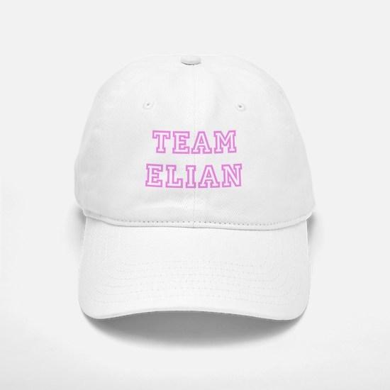Pink team Elian Baseball Baseball Cap