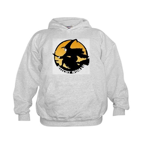 Witchy Woman Kids Hoodie