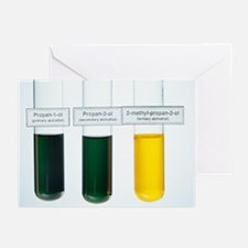 Oxidations of alcohols - Greeting Cards (Pk of 20)