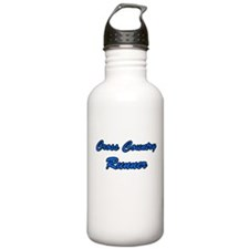 Cross Country Runner Water Bottle