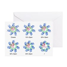 Protein folding mechanism - Greeting Cards (Pk of