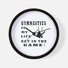Gymnastics Is My Life Wall Clock