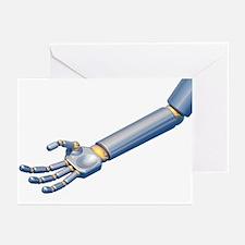Robot hand, artwork - Greeting Cards (Pk of 20)