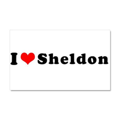 Sheldon Car Magnet 20 x 12