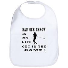 Hammer Throw Is My Life Bib