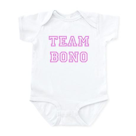 Pink team Bono Infant Bodysuit