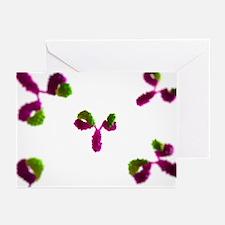 Antibodies, artwork - Greeting Cards (Pk of 20)