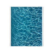 Cool Pool Water Throw Blanket