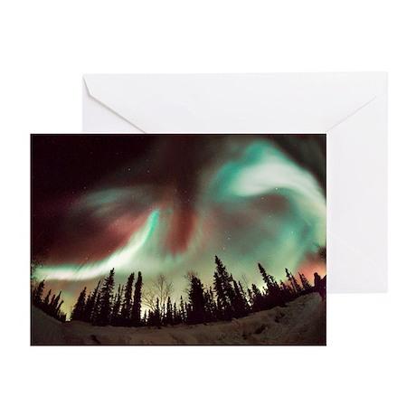 Aurora borealis - Greeting Cards (Pk of 20)