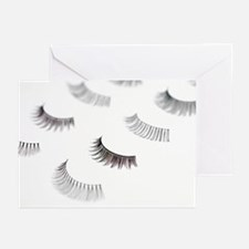 False eyelashes - Greeting Cards (Pk of 20)