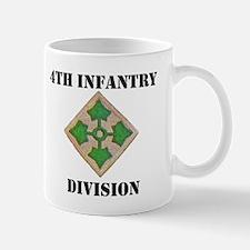 4TH INFANTRY DIVISION Small Small Mug