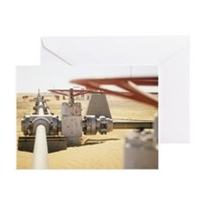 Gas well valve - Greeting Cards (Pk of 20)