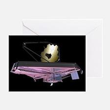 James Webb Space Telescope, artwork - Greeting Car