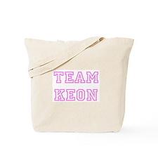 Pink team Keon Tote Bag