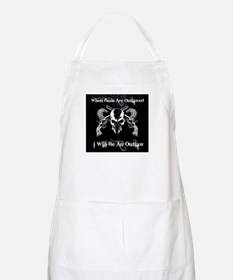 When guns are outlawed Apron