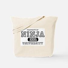 Ninja University Property Tote Bag