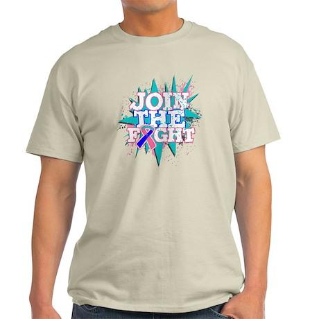 Join Fight Thyroid Cancer Light T-Shirt