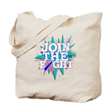 Join Fight Thyroid Cancer Tote Bag