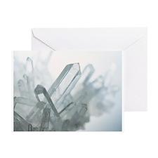 Quartz crystals - Greeting Cards (Pk of 20)