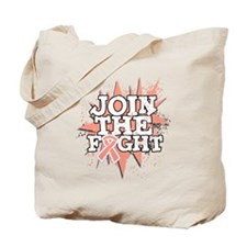 Join Fight Uterine Cancer Tote Bag