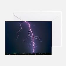 Single lightning strike near Tucson, Arizona - Gre