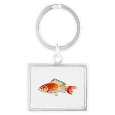 Goldfish Chromo Landscape Keychain