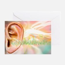 Tinnitus, conceptual artwork - Greeting Cards (Pk
