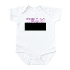Pink team Mikel Infant Bodysuit