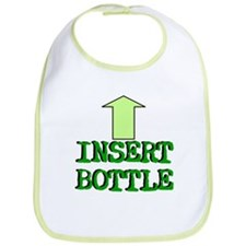 """Insert Bottle"" Baby Bib"