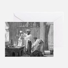 Rhazes, Islamic scholar - Greeting Cards (Pk of 20
