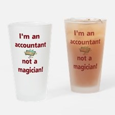 Funny Accountants Drinking Glass