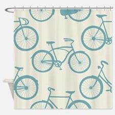 Cute Bicycles Shower Curtain
