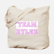 Pink team Rylee Tote Bag