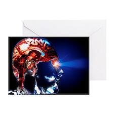 Human brain - Greeting Cards (Pk of 20)