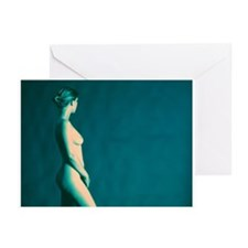 Naked woman - Greeting Cards (Pk of 20)