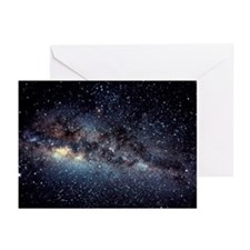 Optical image of the Milky Way in the night sky -
