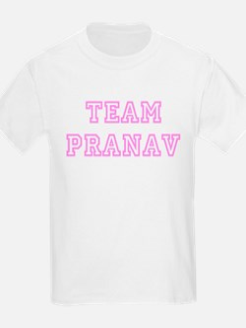 Pink team Pranav Kids T-Shirt