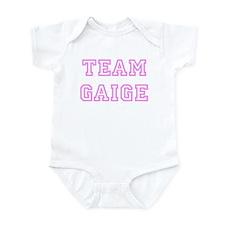 Pink team Gaige Infant Bodysuit