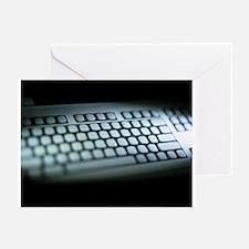 Blank keyboard - Greeting Cards (Pk of 20)
