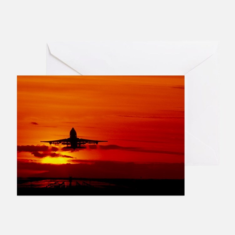 Boeing 747 - Greeting Cards (Pk of 20)