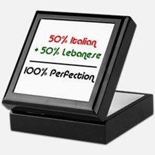 Italian & Lebanese Keepsake Box