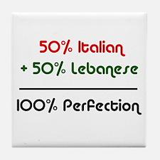 Italian & Lebanese Tile Coaster