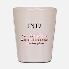 INTJ Plan Shot Glass