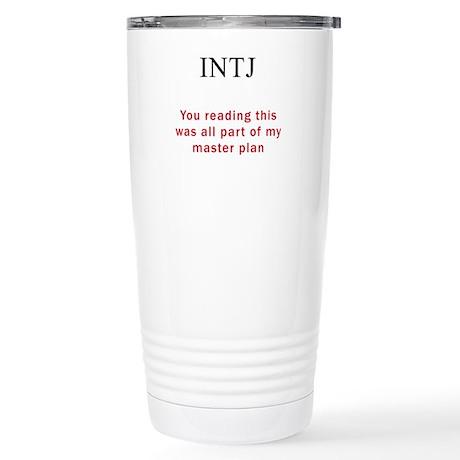INTJ Plan Stainless Steel Travel Mug