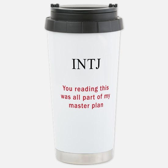 INTJ Plan Stainless Steel Travel Mug